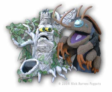 Puppets: Bug and Tree